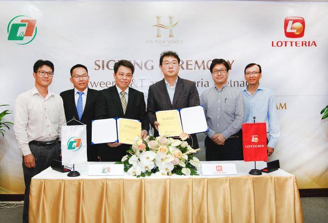 C&T và Lotteria hợp tác triển khai chuỗi dịch vụ thương mại tại dự án Ha Tien Venice Villas