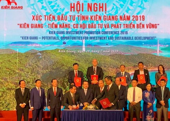 Gần 10 tỉ USD đầu tư vào Kiên Giang