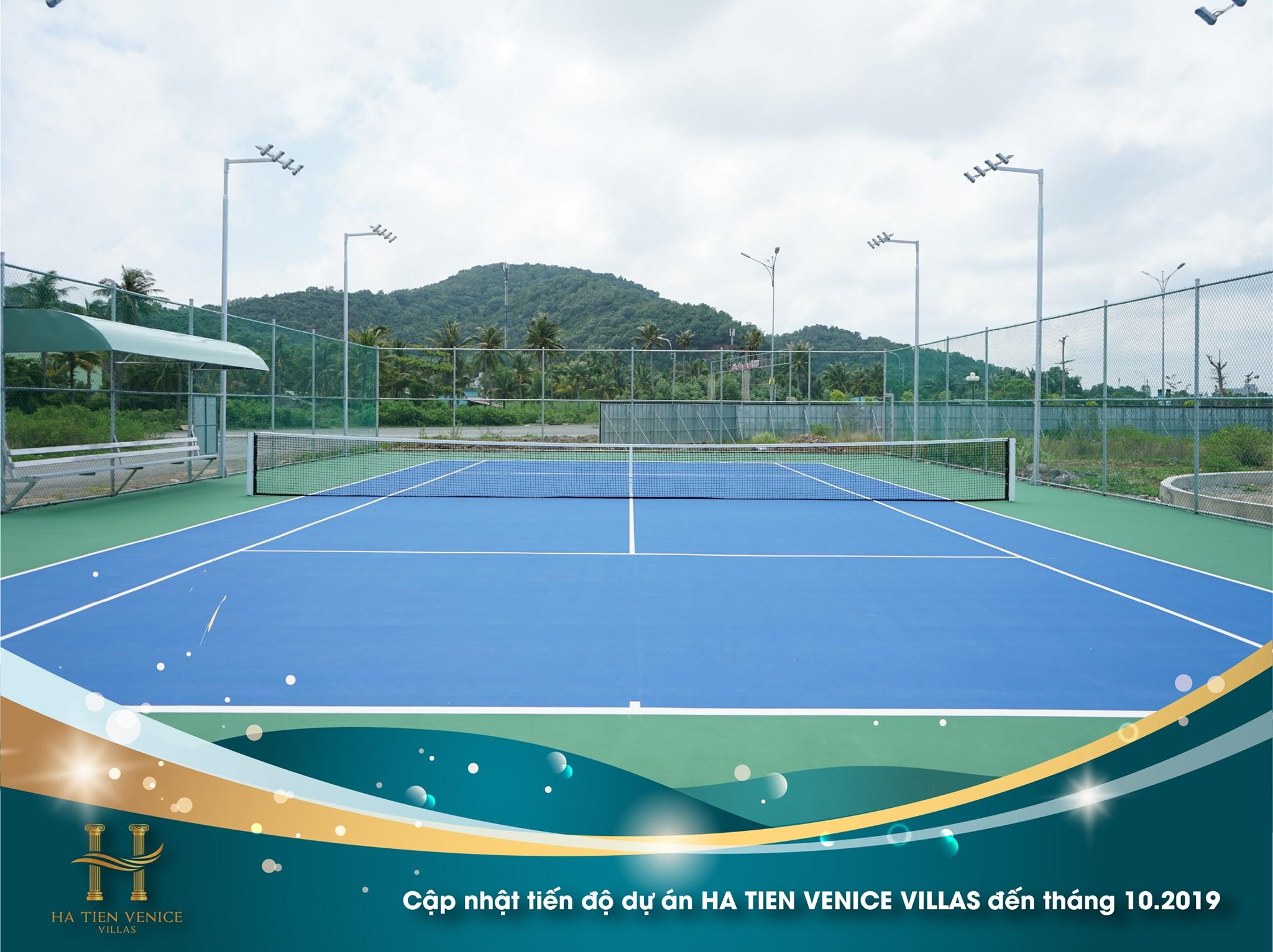 Sân Tennis đã hoàn thành từ tháng 6/2019